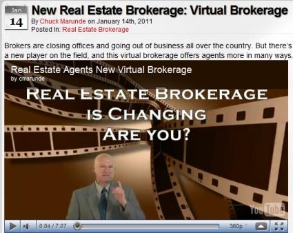 Virtual Real Estate Broker