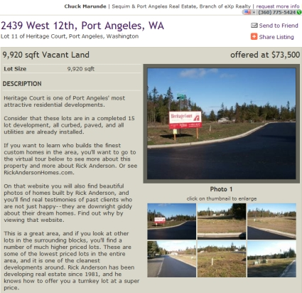 Port Angeles Land for Sale