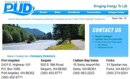 Sequim Utilities