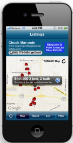 Find Sequim Home Prices From Your iPhone