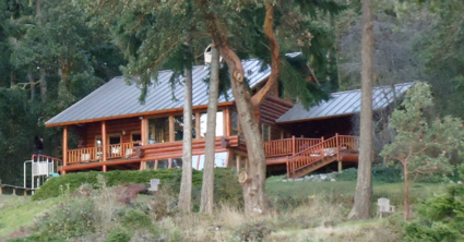 Sequim Log Home