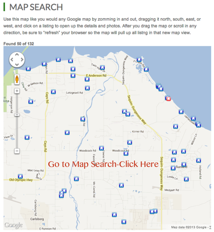 Sequim Map Search