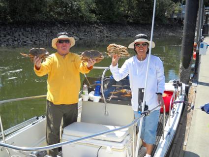 Sequim Crabbing