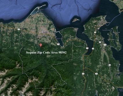 Port Angeles Zip Code Map.Sequim And Port Angeles Water View Properties