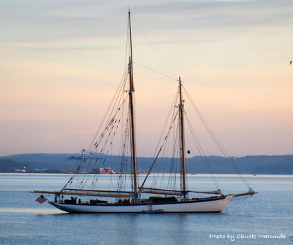 Sailing in Port Townsend