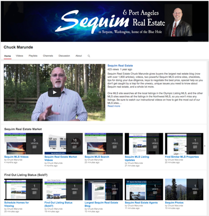 Sequim real estate videos