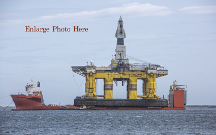 Oil Rig in Port Angeles