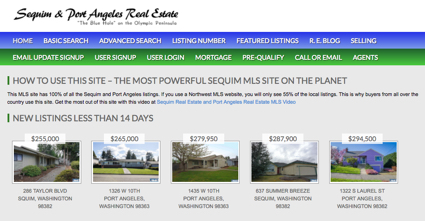 New Sequim Listings