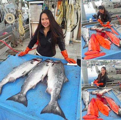 Gwen Marunde Fishing