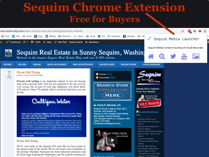 Sequim Chrome Extension